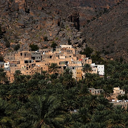 Mountain village - Misfat Al Abriyyin, 55km northwest of Nizwa