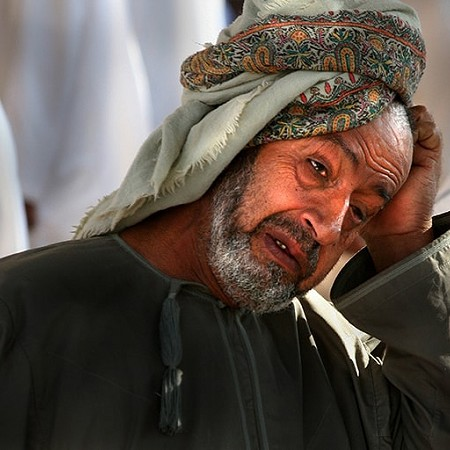 Deep in thought - Nizwa Souq