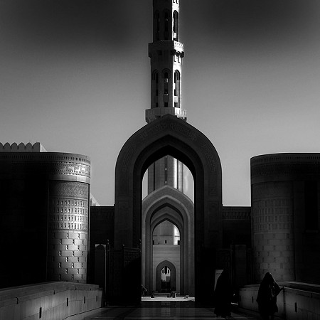 Prayer time - The Grand Mosque, Muscat