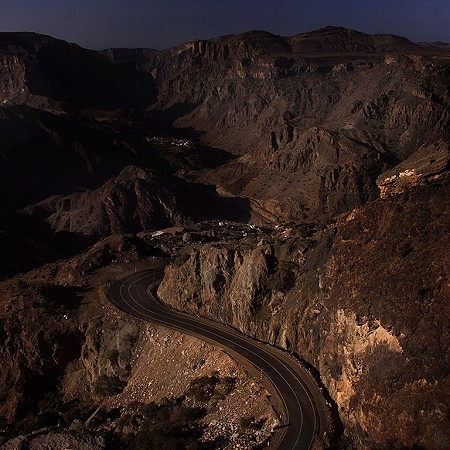 The view from Al Jabal Al Akhdar - The Green Mountain