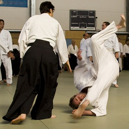 Aikido roll - Brisbane 2007