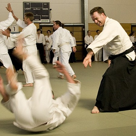 Aikido fall - Brisbane 2007
