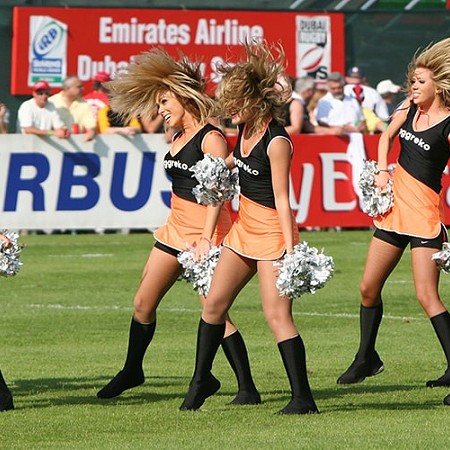 Cheer leaders - Dubai 2008