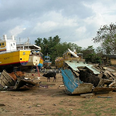 Lost fleet after the 2004 Boxing Day Tsunami